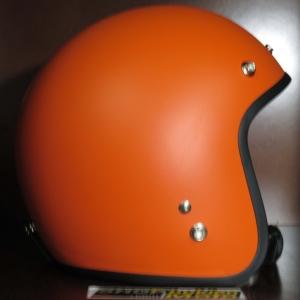 Mũ bảo hiểm 3/4 Dammtrax (cam nhám)