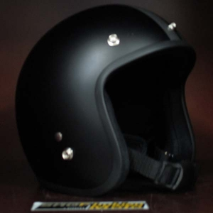 Mũ bảo hiểm 3/4 Dammtrax (đen sọc xám)