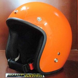 Mũ bảo hiểm 3/4 Dammtrax (màu cam bóng)
