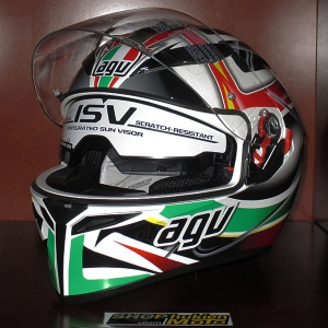 Nón Bảo Hiểm AGV K3 SV Multi - Rav Black/White/Red/Green