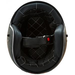 Mũ bảo hiểm 3/4 cafe racer Speed & Strength - SS600 (chuẩn DOT) (đen nhám/ đồng)