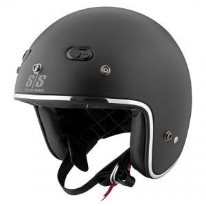 Mũ bảo hiểm 3/4 cafe racer Speed & Strength - SS600 (chuẩn DOT) (đen nhám)