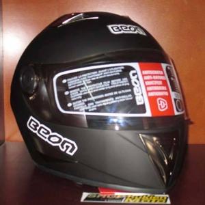 Mũ bảo hiểm fullface Beon (đen nhám)