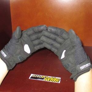 Găng tay Komine GK-163 3D (đen) (size: M/L/XL)