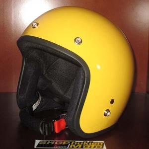 Mũ bảo hiểm 3/4 Dammtrax (Vàng bóng)