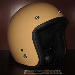 Mũ bảo hiểm 3/4 Dammtrax (Màu vàng sữa bóng)