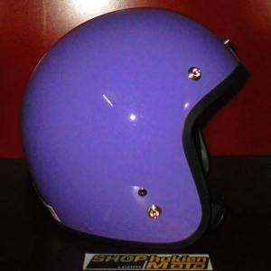 Mũ bảo hiểm 3/4 Dammtrax (Màu tím bóng)