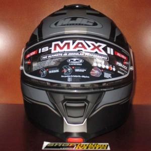Mũ Bảo Hiểm Lật Hàm (Flip up) HJC IS - Max II (Đen Xám/ Nhám) (size: L/XL)