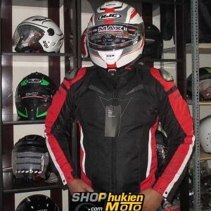 Áo Giáp Bảo Hộ Dainese đỏ đen (Super Speed Textile) (size: M/L/XL/XXL)