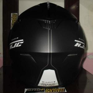 Mũ Bảo Hiểm Lật Cằm (Flip up) HJC IS -Max II (Đen nhám sọc trắng) (size: M/L/XL)
