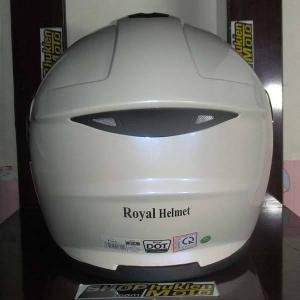 Mũ bảo hiểm lật cằm Royal (Trắng bóng)