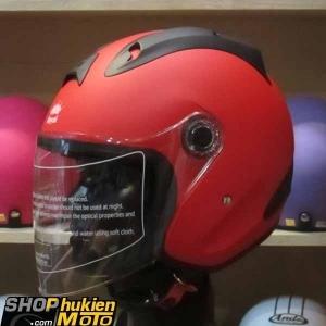 Mũ 3/4 ROYAL (Đỏ nhám) (Size: L)