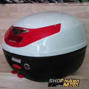 Thùng GIVI E260N (màu trắng có đèn) (hàng chính hãng)