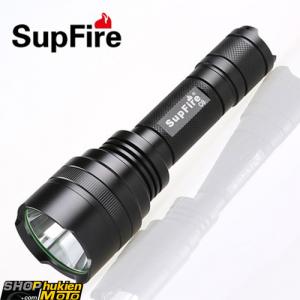 Đèn Pin dùng đi phượt Siêu Sáng - SUPFIRE C8-R5