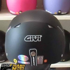 Mũ bảo hiểm 1/2 LOTO GIVI (đen nhám) (size M/ L)