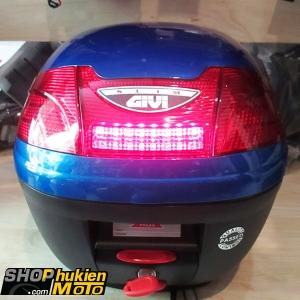 Thùng GIVI E230N (sơn xanh bóng có đèn) (hàng chính hãng)