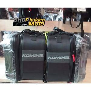 Túi treo hông 2 bên xe MOTO KOMINE SA234 (Màu Gunmetal)