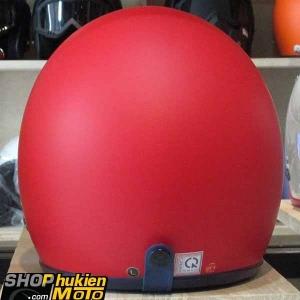Mũ bảo hiểm 3/4 ROYAL M20 (Màu đỏ viền xanh đậm) (Size M/ L)