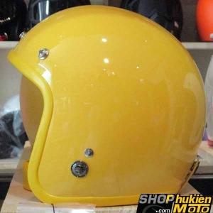 Mũ bảo hiểm 3/4 ROYAL M20 (Màu vàng bóng) (Size M/ L)