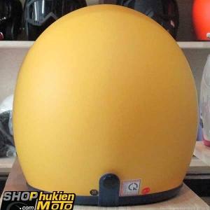 Mũ bảo hiểm 3/4 ROYAL M20 (vàng nhám viền xanh đậm) (Size M/ L)