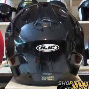 Mũ bảo hiểm 3/4 HJC IS-33 chuẩn ECE (Đen bóng)