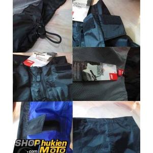Áo mưa bộ Givi RRS06B (Đen/xanh) (SIZE:S/M/L/XL/XXL)