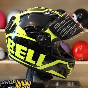Mũ bảo hiểm Fullface BELL Qualifier (Chuẩn: DOT) (Vàng đen bóng) (Size: M/L/XL)