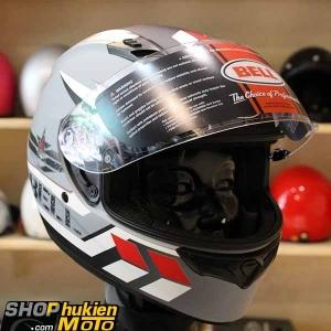 Mũ bảo hiểm Fullface BELL QUALIFIER (Chuẩn: DOT) (Xám sọc nhám) (Size: M/L/XL)