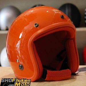 Mũ bảo hiểm 3/4 ROYAL M20 (Màu cam bóng) (Size M/ L)