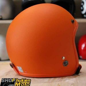 Mũ bảo hiểm 3/4 ROYAL M20 (Màu cam nhám) (Size M/ L)