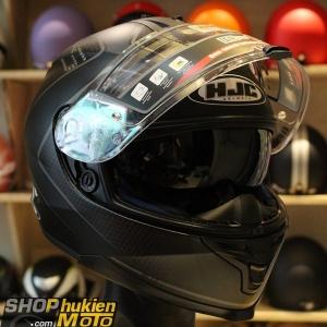 Mũ Bảo Hiểm Fullface HJC IS-17 LANK đen/xám ( SIZE: M/L/XL)