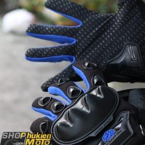 Găng tay scoyco dài ngón MC29 (xanh dương/đen)