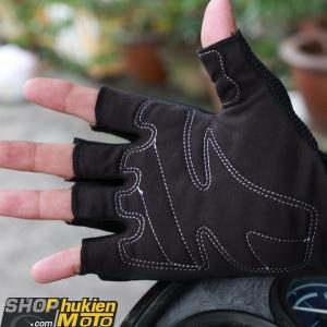 Găng tay cụt ngón Scoyco MC24D (đen)
