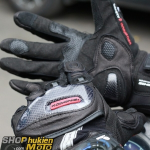 Găng tay Komine GK-160 (đen) (size: L/XL)