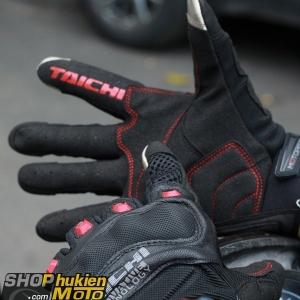 Găng tay Taichi 412 (đen/đỏ đô) (size: L/XL)