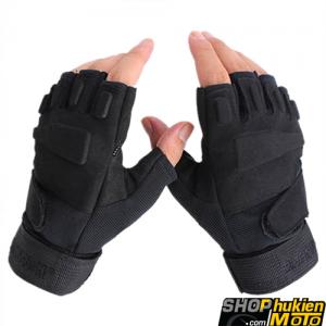 Găng tay Black HAWK CỤT Ngón (đen nhám) (Size: M/L/XL)