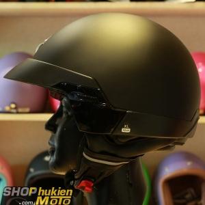 Mũ 3/4 Scorpion EXO-100 (Đen/nhám) (Size: M/L/XL)