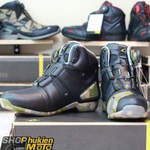 Giày moto TAICHI RSS006 (Camo đen) (hàng chính hãng)