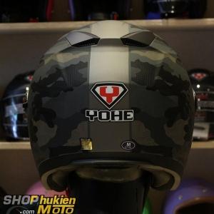 Mũ 3/4 Yohe 2 kính 868 (CAMO) (Size: S/M/L/XL)