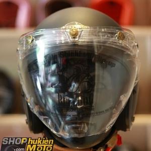 Kính Eagle Bulldog Shield Mirror (Flip-up) (Màu trắng)