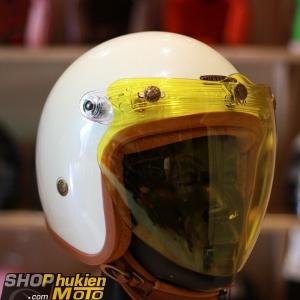 Kính Eagle Bulldog Shield Mirror (Flip-up) (Màu vàng)