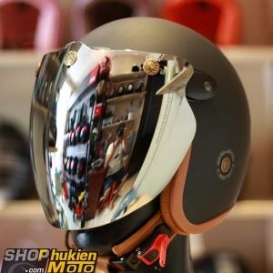 Kính Eagle Bulldog Shield Mirror (Flip-up) (Tráng gương)