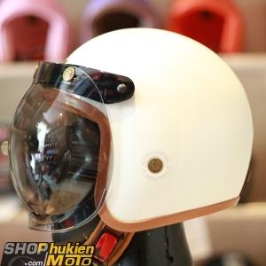 Kính Bulldog Bubble Shield Smoke (Flip-up) (màu khói)