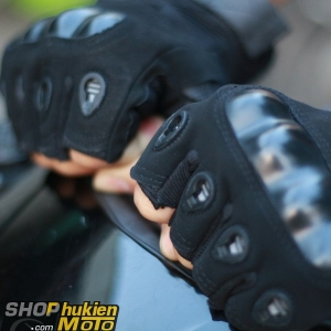 Găng tay OAKLEY CỤT Ngón (màu đen) (Size: M/L/XL)