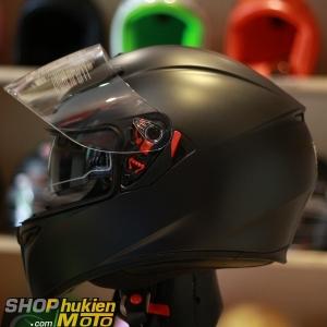 Mũ bảo hiểm AGV K3 SV 2 kính (đen nhám) (Size: ML/L/XL)