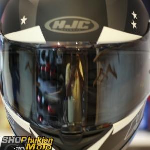 Kính thay cho mũ bảo hiểm HJC IS-17 (màu khối)