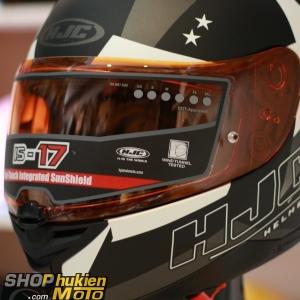 Kính thay cho mũ bảo hiểm HJC IS-17 (màu cami)