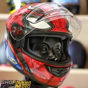 Mũ bảo hiểm Fullface HJC CS-R3 (Spider man) (size: M)