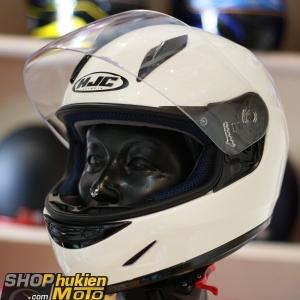 Mũ bảo hiểm Fullface HJC CL-Y (Trắng bóng)