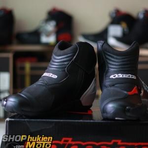 Giày moto Alpinestars SMX-1 R (Đen trắng đỏ)